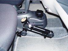 Крепление монитора в авто своими руками